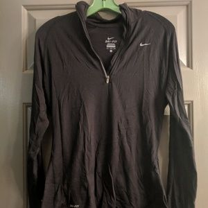 Nike Dri-Fit Half-zip Long Sleeve Pull-over